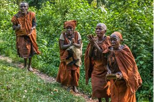 Batwa Community in Bwindi Impenetrable National Park